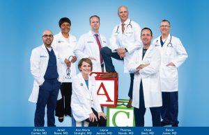 Group Photo of the pediatric physicians